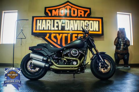 Pre-Owned 2018 Harley-Davidson Fat Bob Softail FXFB